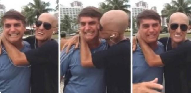 Gay assumido, Amin já afirmou ser apoiador do presidente Bolsonaro (CRÉDITO: REPRODUÇÃO)