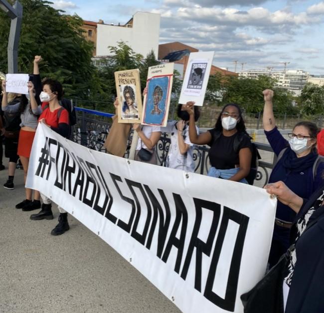 Manifestação em Berlim (CRÉDITO: REPRODUÇÃO)