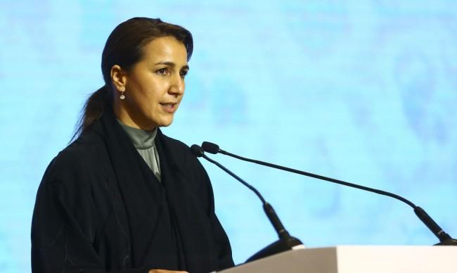 Ministra do Meio Ambiente e Mudanças Climáticas dos EUA, Mariam Bint Mohammed Al Mheiri (CRÉDITO: MARCELO CAMARGO/AGÊNCIA BRASIL)
