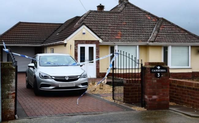 Casa dos Jacksom onde o crime ocorreu (CRÉDITO: REPRODUÇÃO)