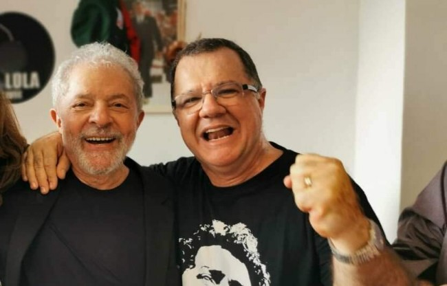 Carlos Eduardo Gabas e Lula (CRÉDITO: REPRODUÇÃO)